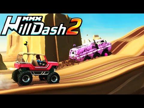 Новая часть MMX HILL DASH 2 Машины МОНСТРЫ / игра ВИДЕО ДЛЯ ДЕТЕЙ про машинки / VIDEO FOR KIDS cars