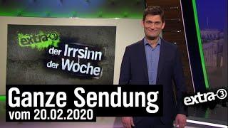 Extra 3 vom 20.02.2020 mit Christian Ehring