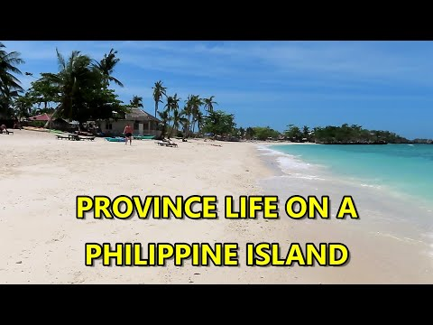 PROVINCE LIFE ON A PHILIPPINE ISLAND