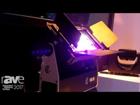 ISE 2017: CLF Displays Ares XS LED Wash Light