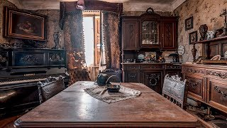 Abandoned UNTOUCHED Millionaires Family Mansion w/ EVERYTHING INSIDE