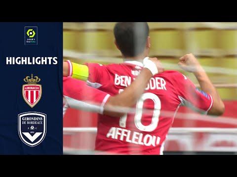 Monaco Bordeaux Goals And Highlights