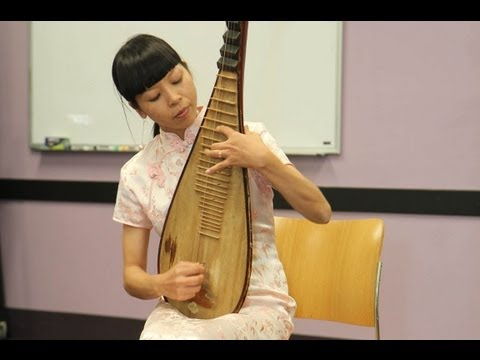 Chinese Musical Instruments - The Pipa - Chinese Culture Celebration at Orlando Public Library cal