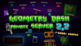 Geometry Dash 2.2 Editor Private Server   Platformer, Swingcopter, New Triggers And More!