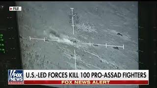 В США показали видео Разгрома российских наемников в Сирии