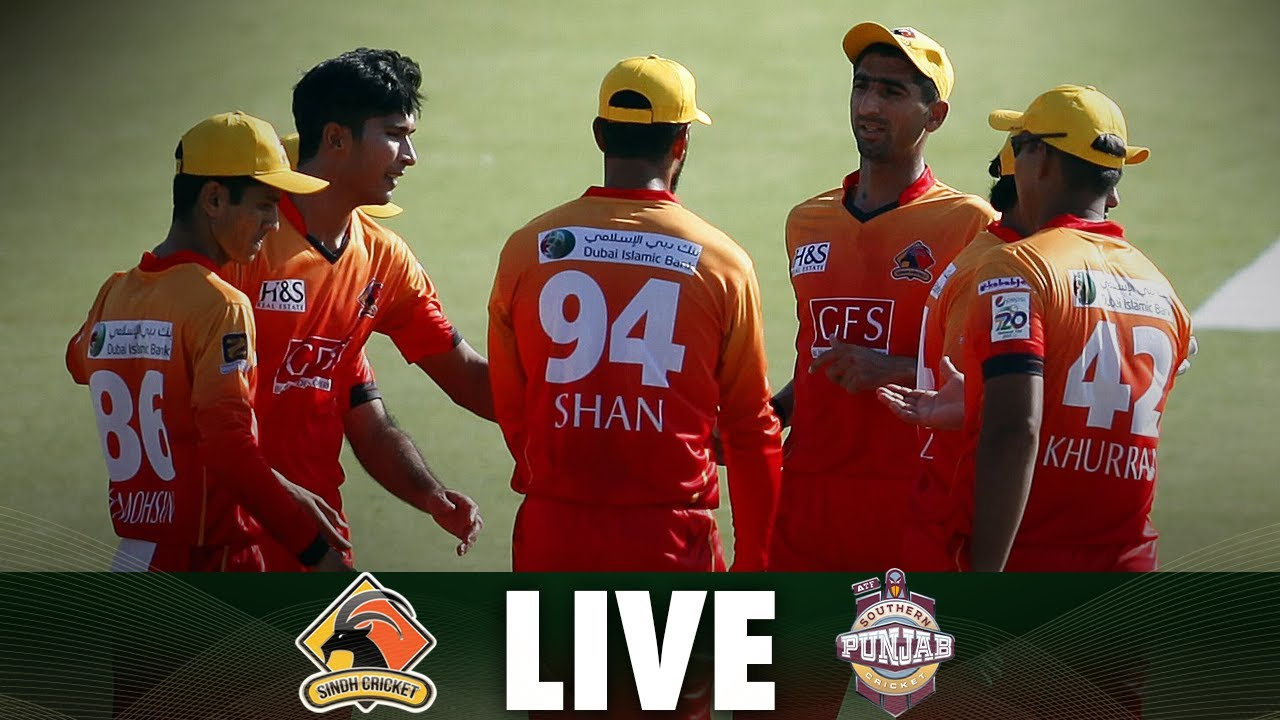 LIVE | Match 3 | Sindh vs Southern Punjab  | National T20 2021
