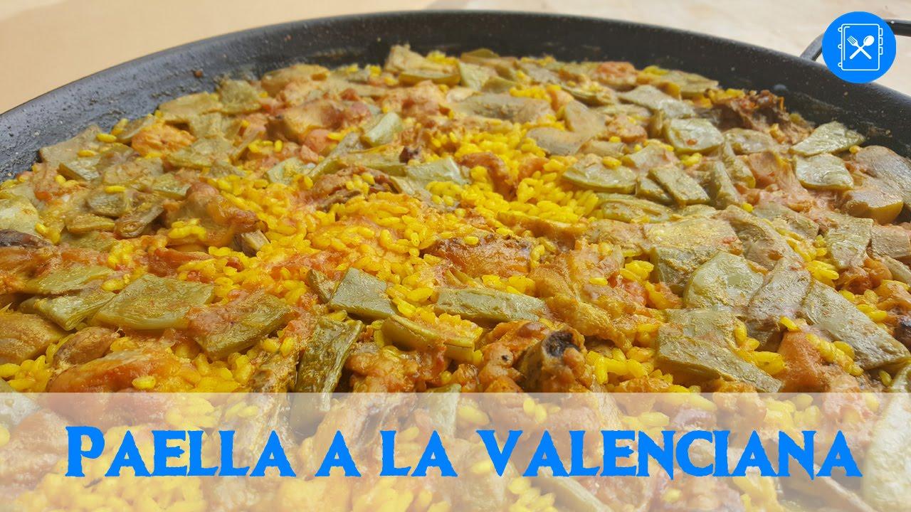 Paella a la valenciana conejo y pollo cocina al d a for Cocina valenciana