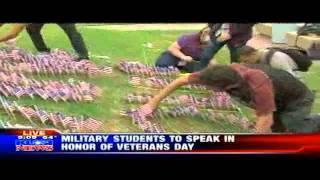 KUSI-SD: San Diego City College honors Veterans Day by hosting military veteran speakers.
