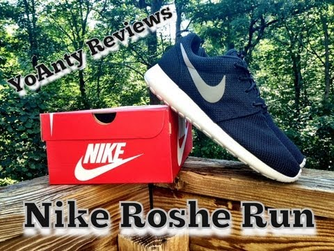 Nike Roshe Run Black Grey Review & On Feet