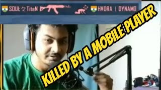 PRO Emulator Player DYNAMO Killed by MOBILE PLAYER || CaptainMD