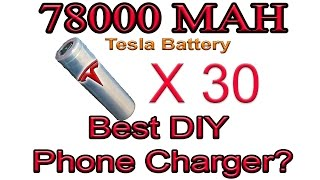 Tesla Power Wall, For Your Phone?!?!