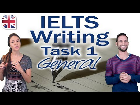 How to Answer IELTS Writing Task 1 General - Video Lesson