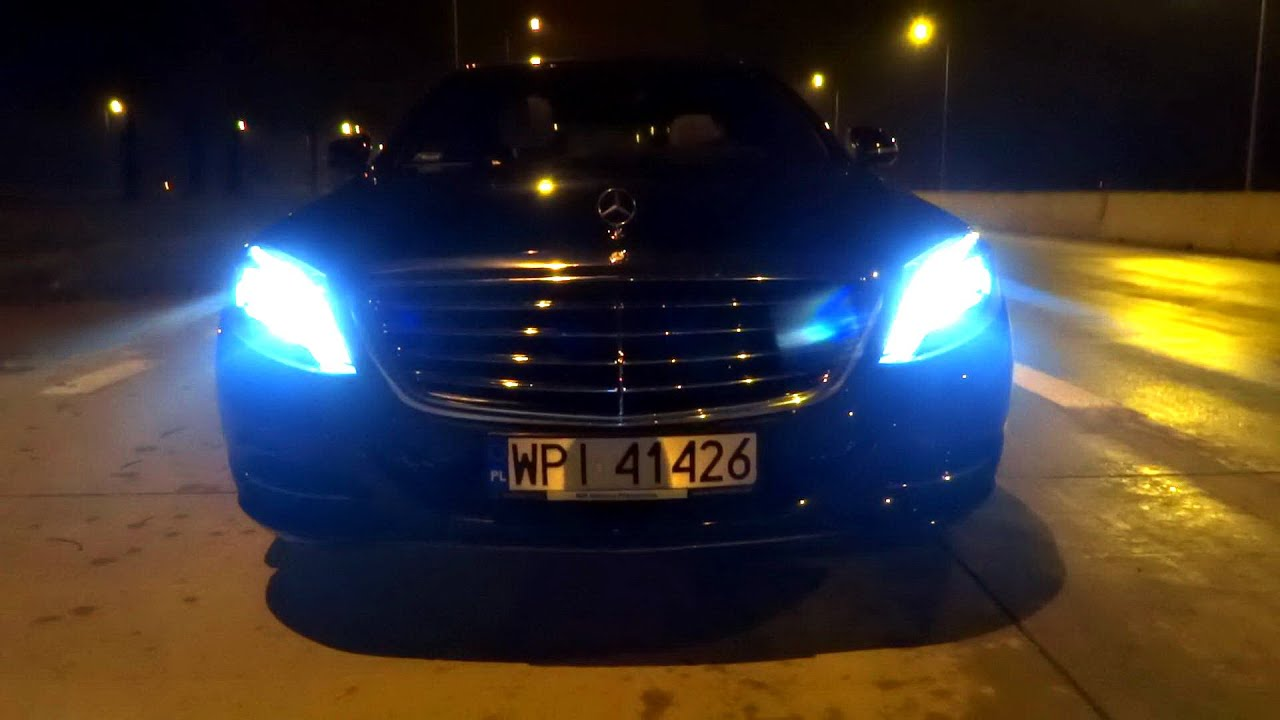 2016 Mercedes-Benz S-Class S350 Long Test Drive Acceleration Night Driving ILS Led Lights Review ...