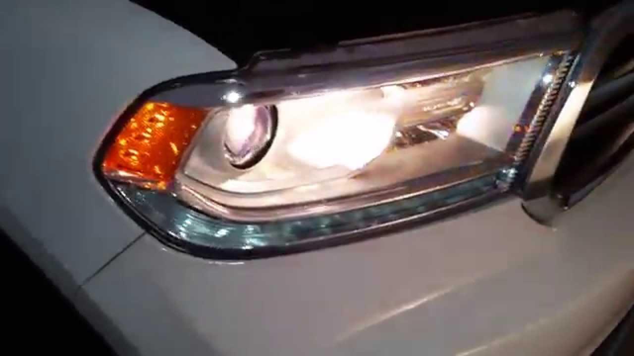 2014 Dodge Durango SUV - Testing Headlights After Changing ...