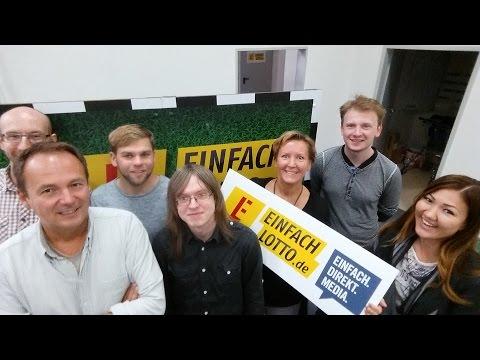 Einfach Direkt Media Selfie Video: Berlin's lottery e-commerce startup