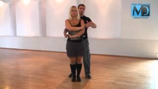 Сальса. Видео урок №6 от MostDance.com (Голинищенко, Вишняков)