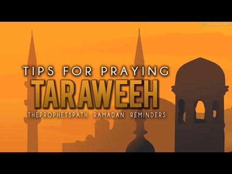 Tips For Praying Taraweeh ᴴᴰ - Motivational Reminder - Must Watch