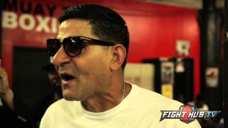 "Angel Garcia on Golden Boy suing Haymon ""They dirtied the water & drank it!!"""