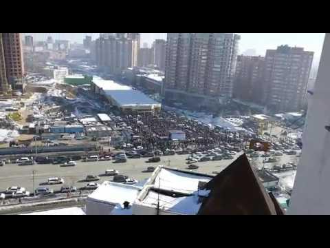 Охота на Мерседес. Розыгрыш приза от Бахетле Новосибирск
