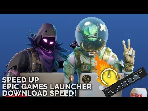 Increase Epic Games Launcher Download Speed! 100% Working | Fortnite