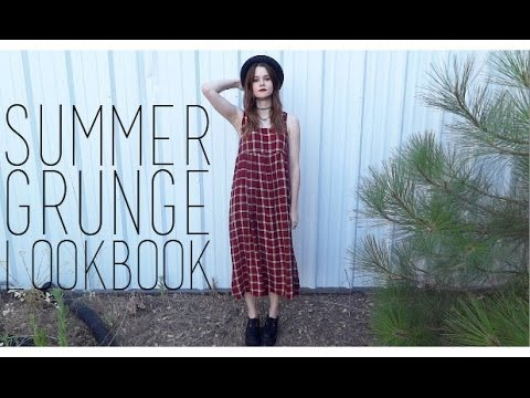 9c6b4d5fadd SUMMER GRUNGE LOOKBOOK - YouTube