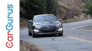 2015 Hyundai Genesis Coupe R-Spec | CarGurus Test Drive Review