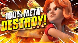 100% META DESTROYER!! #1 NEW BEST BALLOON DECK DESTROYS EVERYTHING!! 🔥