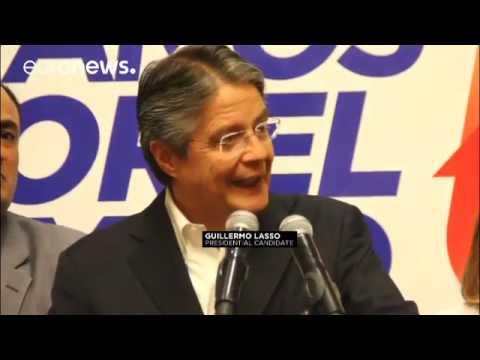 Proteste vor Wahlbehörde in Quito  Stimmen noch nicht ausgezählt