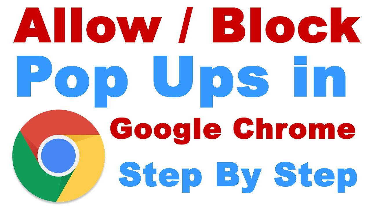 how to stop pop up surveys on google chrome how to allow block pop ups on google chrome browser 2579