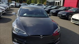 WE REVIEWED ONE OF THE QUICKEST CARS IN THE UNIVERSE! Tesla model S P100D- SUPERCHARGED car reviews
