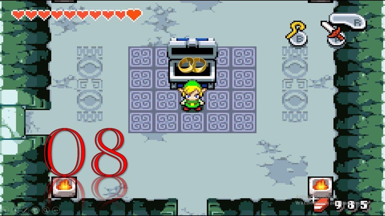 Guia De Zelda The Minish Cap Ep 08 Piedras De La Suerte Y Muñequeras Youtube