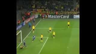 aleksandar mitrovic (rsc anderlecht) nice goal vs borussia dortmund 2014