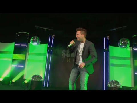 """Mit dem Popschlager Titel """"Vielleicht"""" als Club-Remix-Version in die Schlager Chart-Show """"Deutsche Hit Charts"""" auf MelodieTV."""