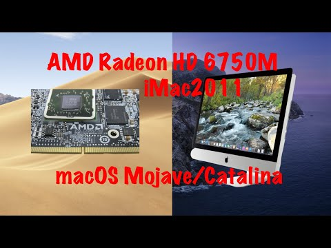 AMD Radeon HD 6750M 256mb(iMac2011).OldAMDFixMojave