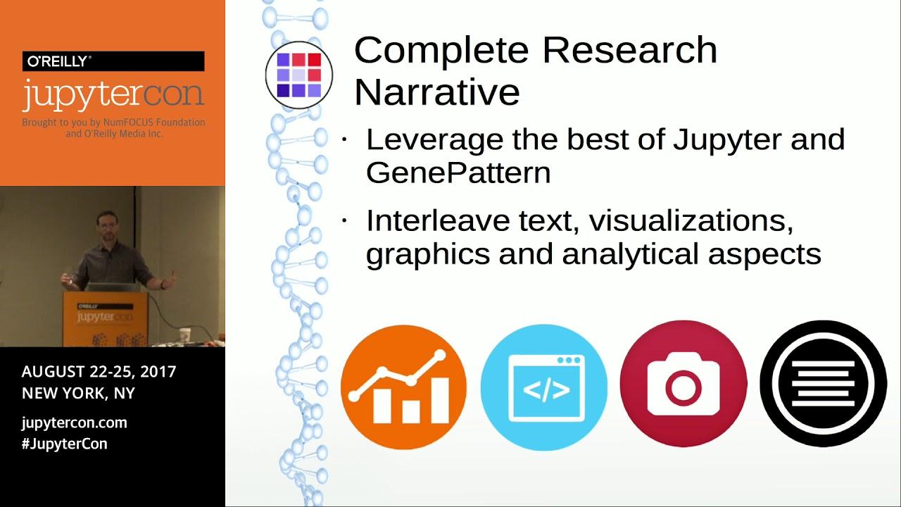 Image from GenePattern Notebook: Jupyter for integrative genomics - Thorin Tabor (University of California)