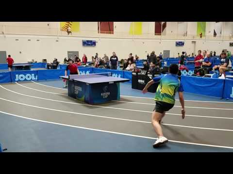 Bo Wen Chen (2596) vs Zirui Zhao (2633) - Open Singles (1/8)