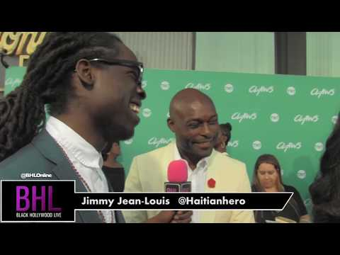 Jimmy JeanLouis talks about getting steamy with Niecy Nash in TNT's Claws