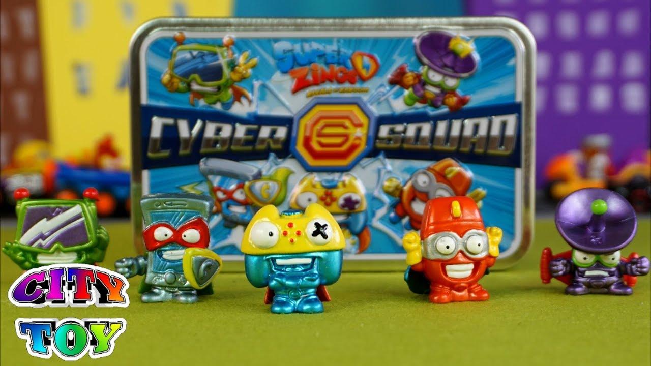Toy Lata A City De Llega Squad La Super Zings Cyber Exclusivos Los D2IHWE9
