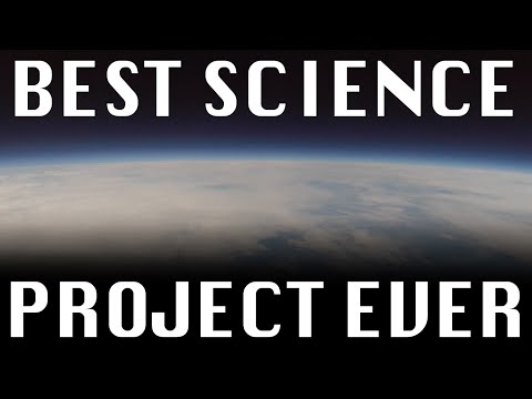 Sending a GoPro to SPACE with the Cub-Scouts (High Altitude Balloon)