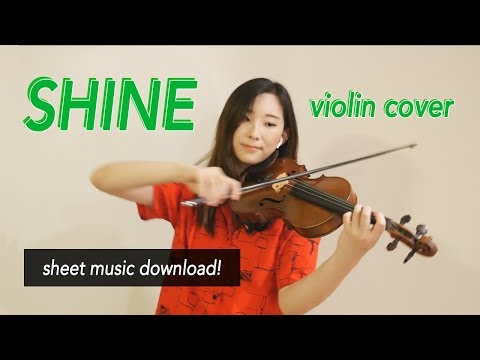 《Shine》- Pentagon (펜타곤) Violin Cover (w/Sheet Music)