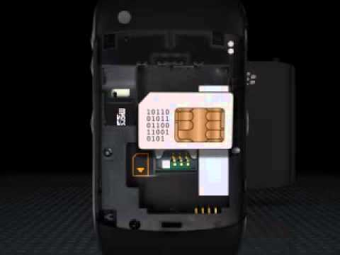 what is stored on a blackberry sim card