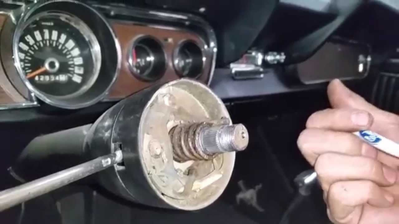 1964 Ford F100 Steering Column Wiring Diy Enthusiasts 1955 Wheel Blinker Curtis 1966 Mustang Fastback Day 17 Part 2 Youtube 1973 Diagram