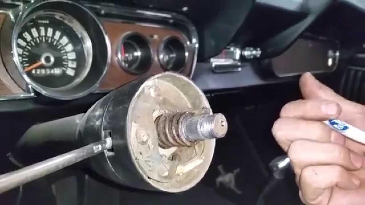 1964 Chevy Turn Signal Wiring Diagram Steering Wheel Blinker Curtis 1966 Mustang Fastback Day