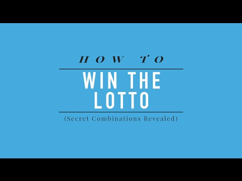 How to Win the Lotto Secret Combinations Revealed
