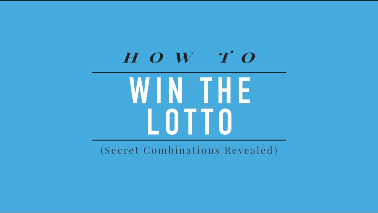 how to win the lotto using the secret