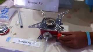 Kompor Air di Pameran Teknologi Tepat Guna (TTG)