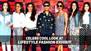 MANY CELEBS ATTEND A LIFESTYLE & FASHION POP UP EXHIBIT