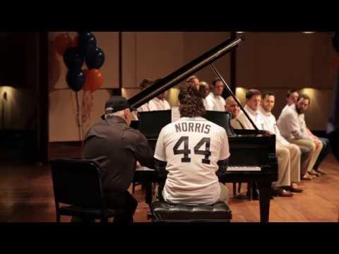 Detroit Tigers Daniel Norris & Leonard Slatkin Play a Tune