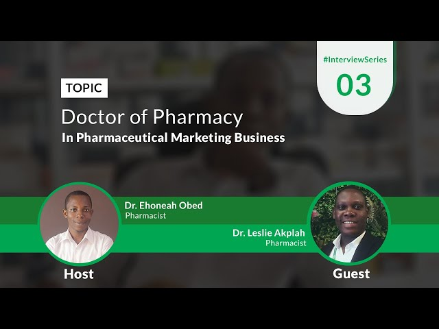 Doctor Of Pharmacy As A Pharmaceutical Sales Representative | Time With A Pharmacist