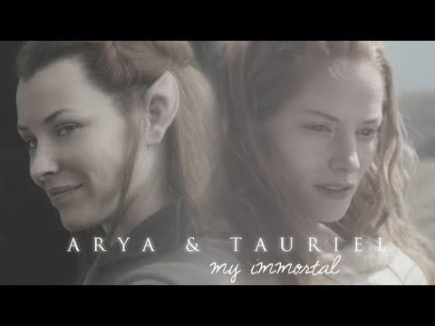 arya & tauriel   alone all along